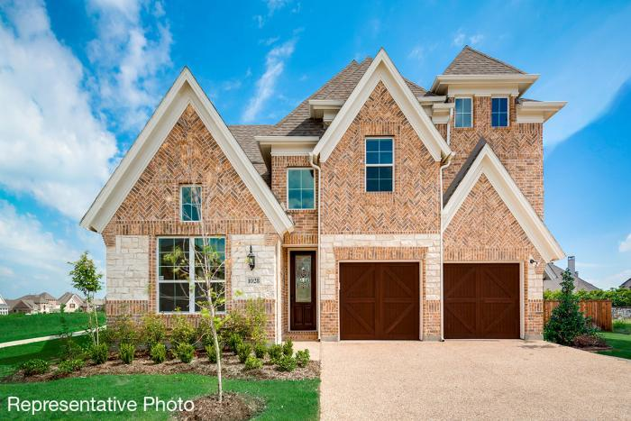 Exterior featured in the Grand Martinique By Grand Homes in Dallas, TX