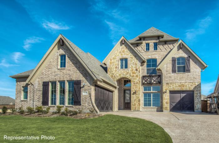 Exterior featured in the Hartford - 161 By Grand Homes in Dallas, TX