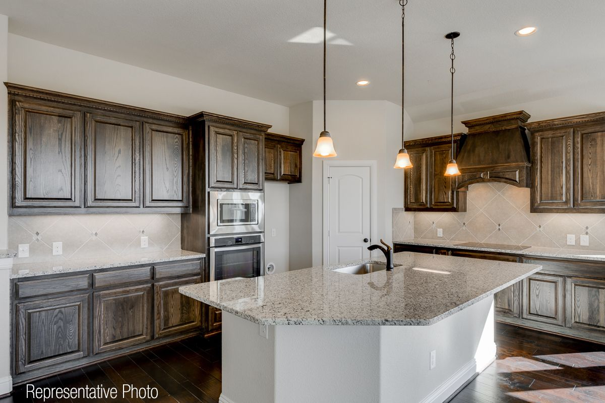 Kitchen featured in the Wimberly-161 By Grand Homes in Dallas, TX