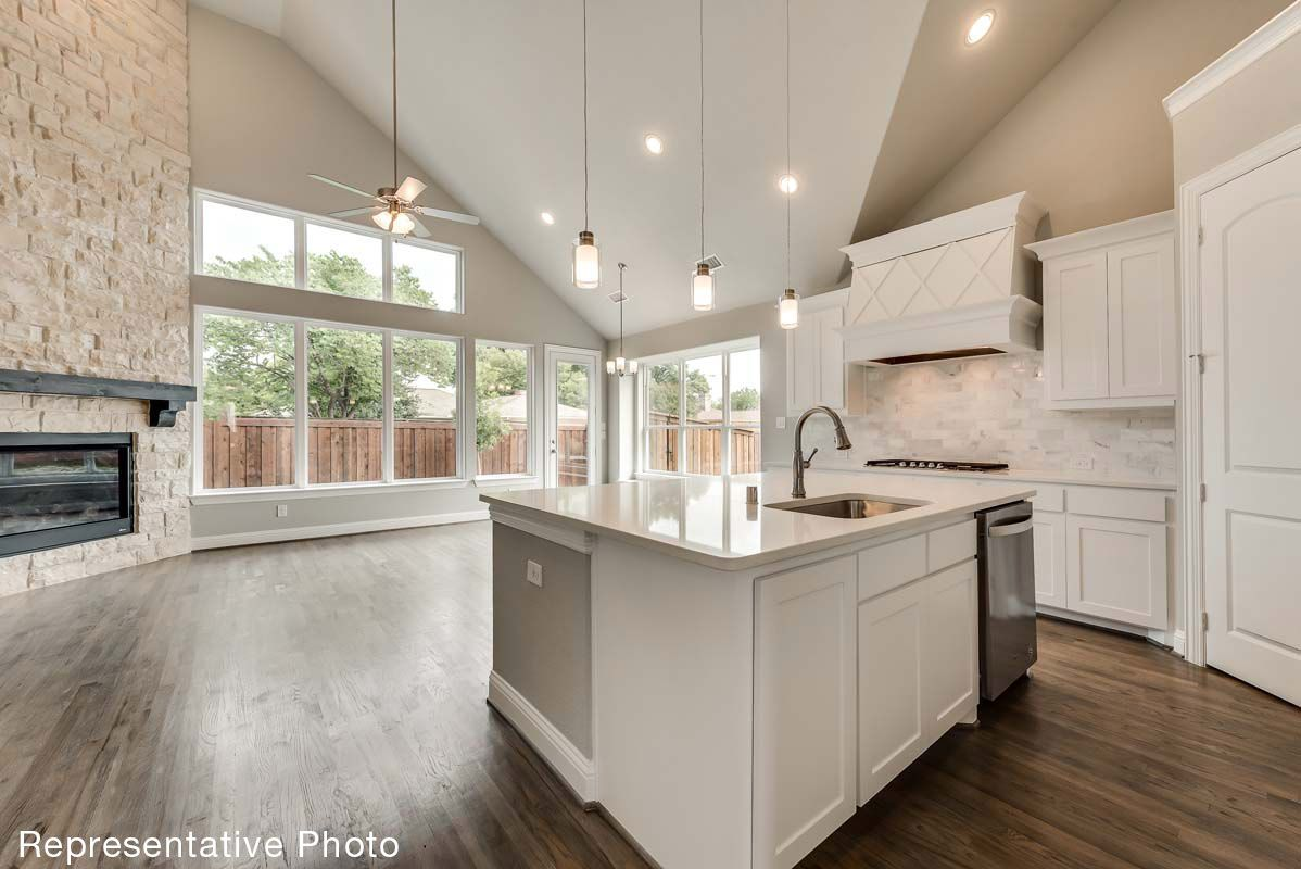 Kitchen featured in the St. Charles - 187 By Grand Homes in Dallas, TX