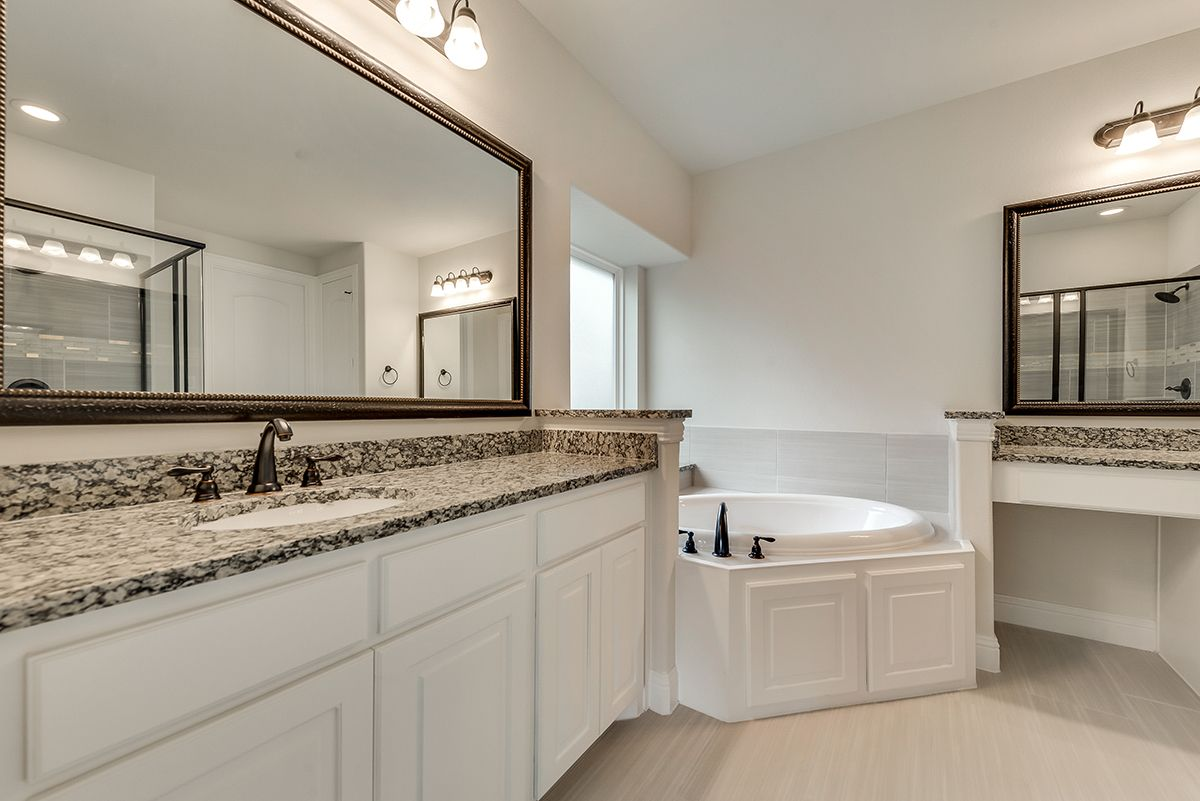 Bathroom featured in the Tiffany II By Grand Homes in Dallas, TX