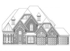 Grand Emerald III 3 Car at South Pointe - South Pointe: Mansfield, Texas - Grand Homes