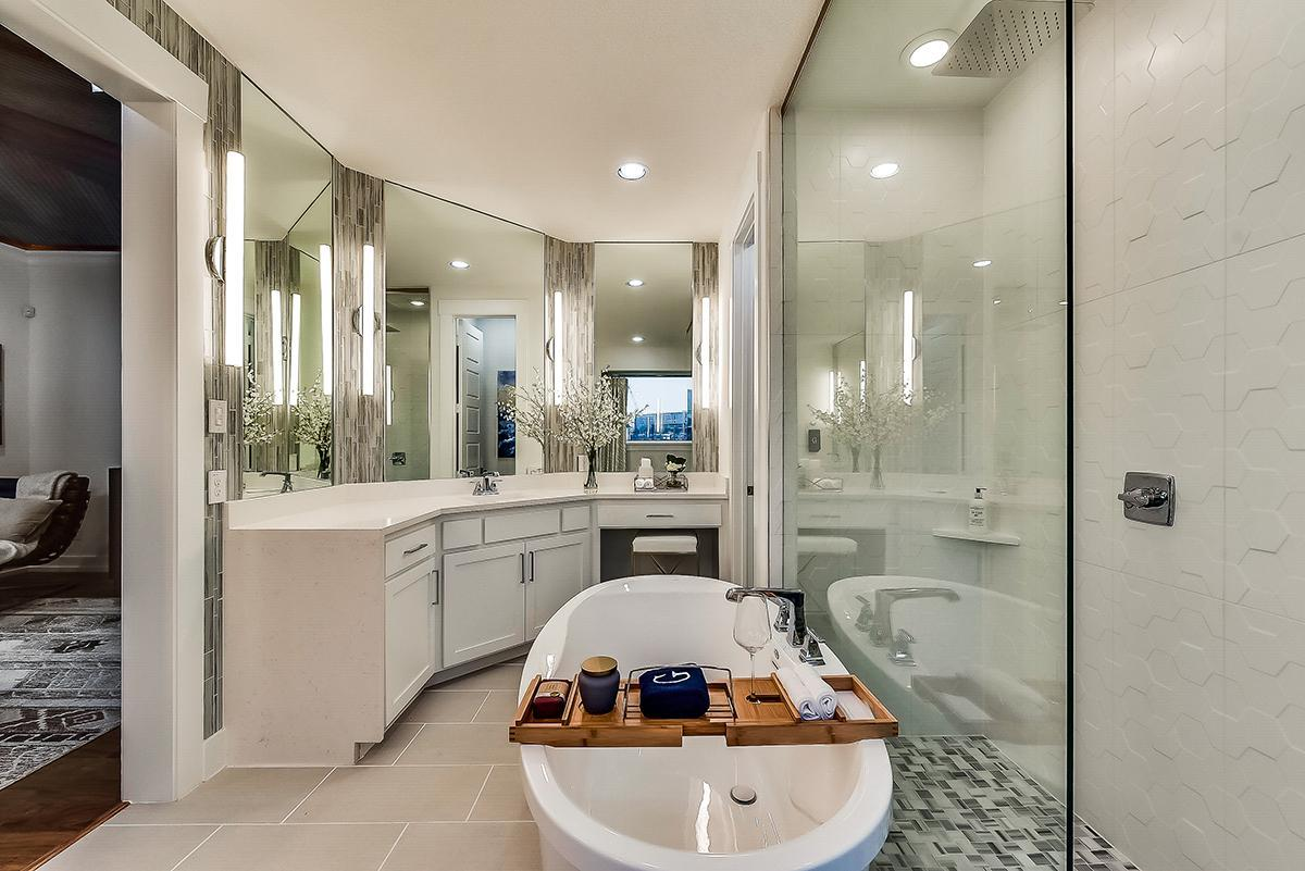 Bathroom featured in the Grand South Pointe 3 Car By Grand Homes in Fort Worth, TX
