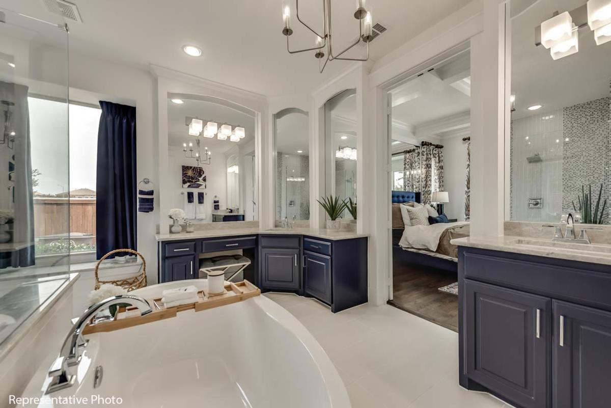 Bathroom featured in the Downton Abbey By Grand Homes in Dallas, TX