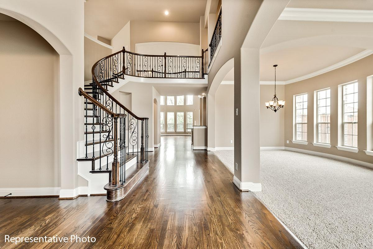 Living Area featured in the Provence II By Grand Homes in Dallas, TX