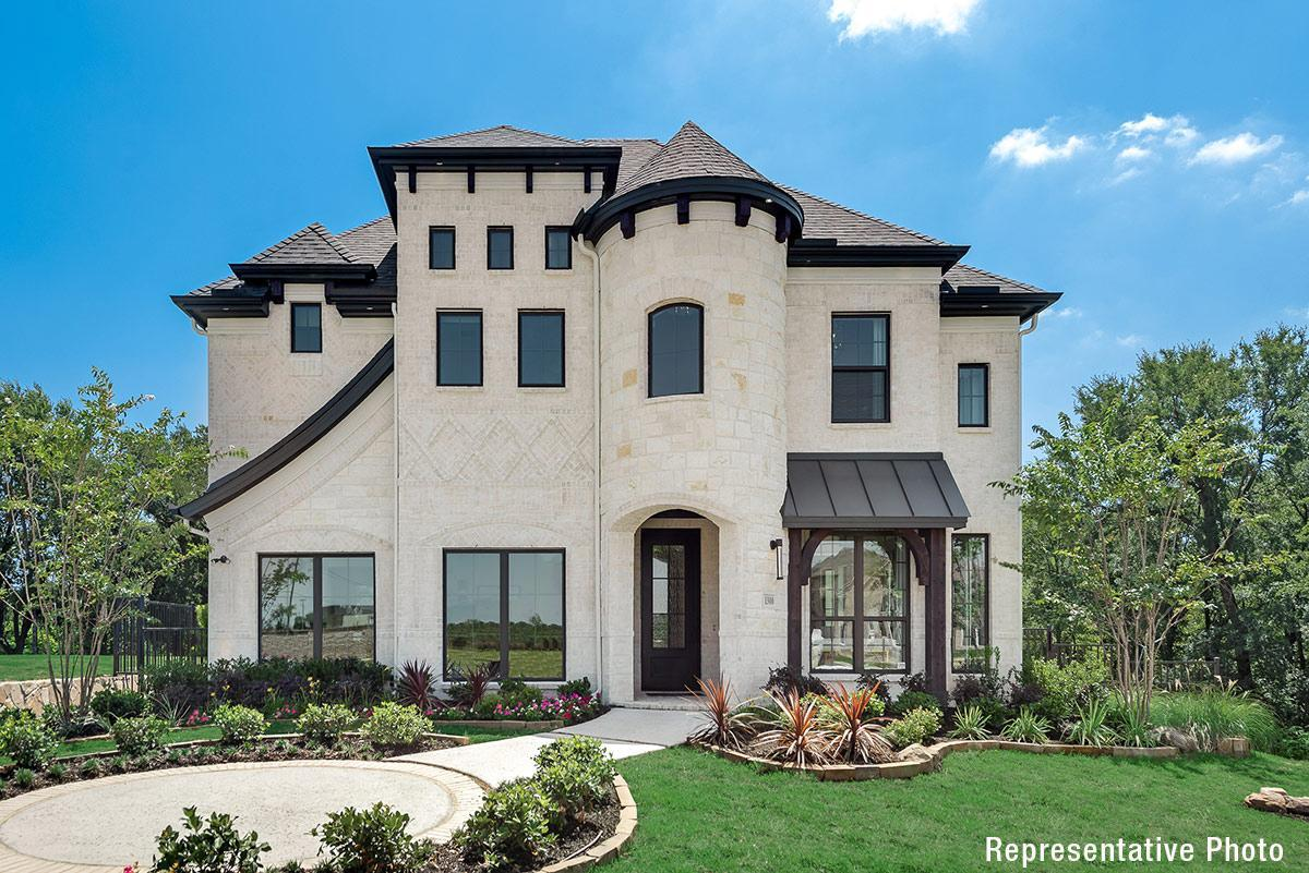 Exterior featured in the Grand Heritage By Grand Homes in Dallas, TX