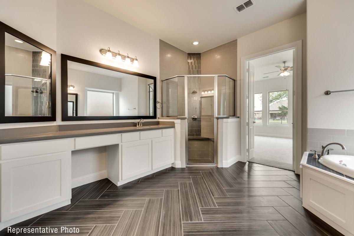 Bathroom featured in the Provence II By Grand Homes in Fort Worth, TX