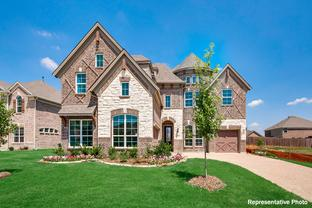 Lake Forest - 3rd Car Garage - Bower Ranch: Mansfield, Texas - Grand Homes