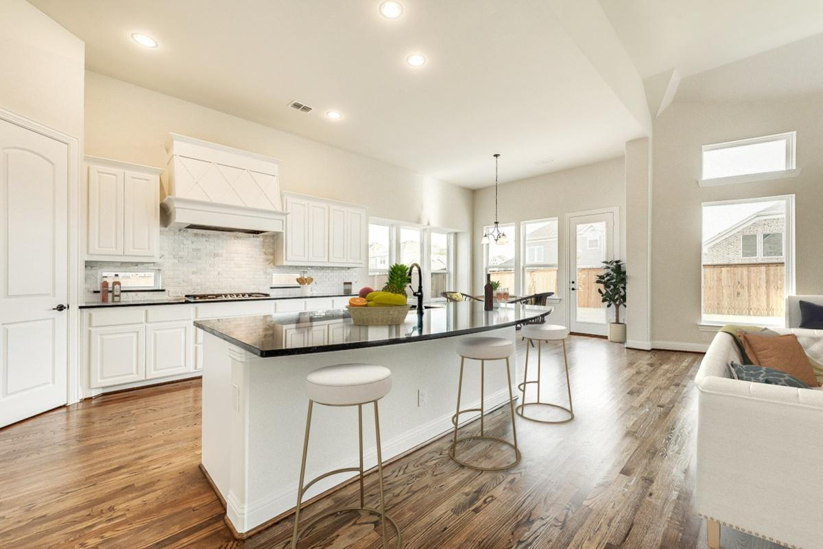 Kitchen featured in the Tiffany II By Grand Homes in Dallas, TX