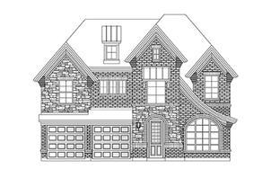 Whitehall II - Country Club Estates: Garland, Texas - Grand Homes