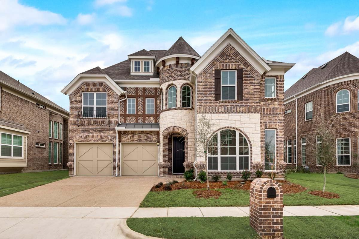 Exterior featured in the Grand Tour By Grand Homes in Dallas, TX