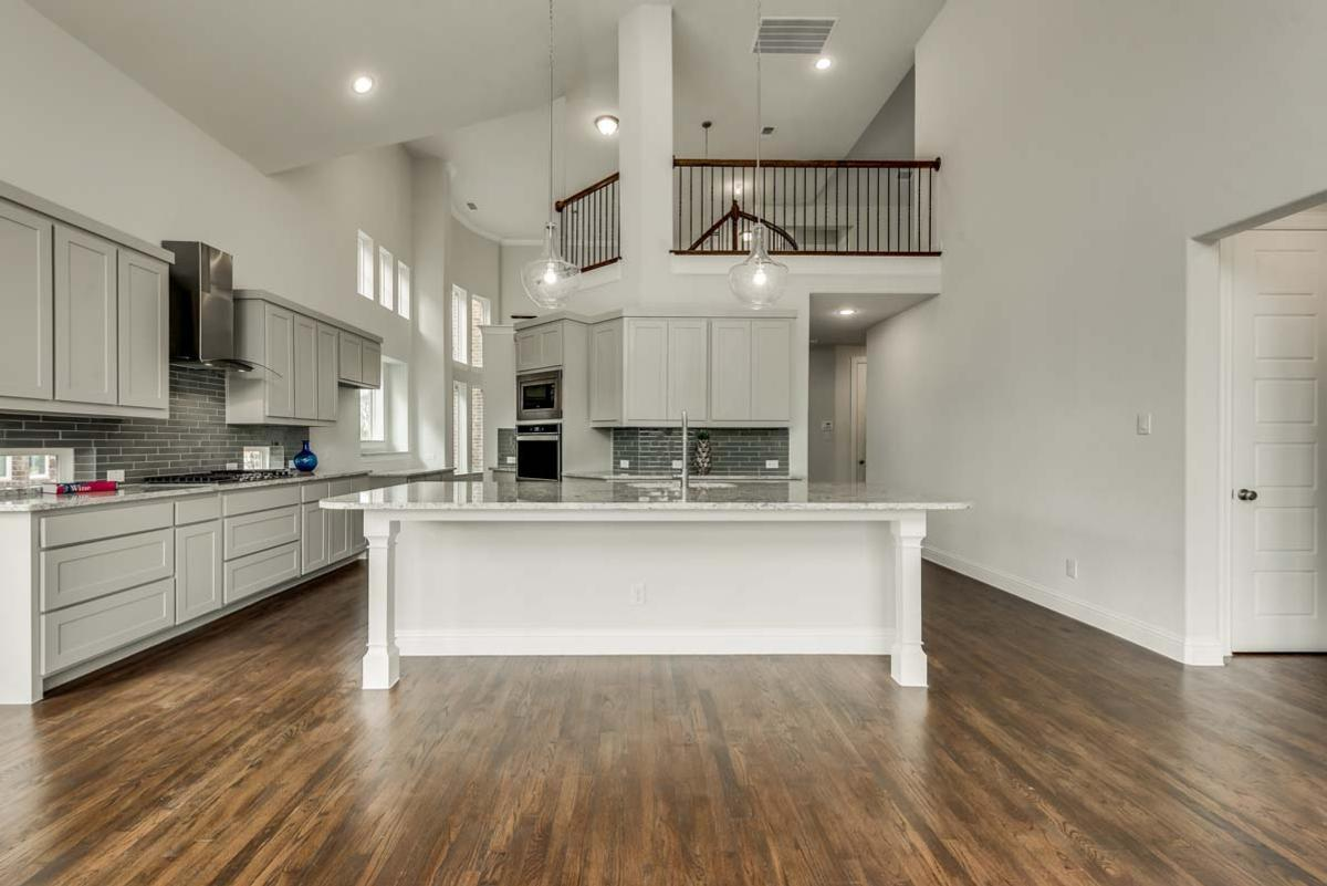 Kitchen featured in the Grand Tour By Grand Homes in Dallas, TX
