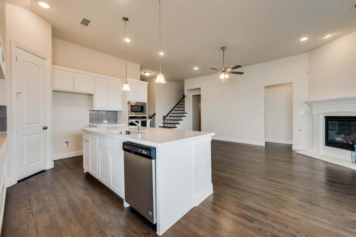 Kitchen featured in The River By Grand Homes in Dallas, TX