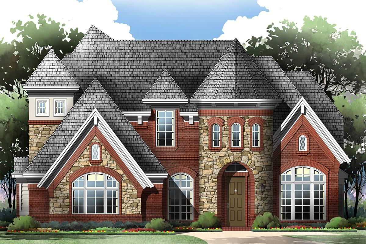 Exterior featured in the Grand Lantana By Grand Homes in Dallas, TX