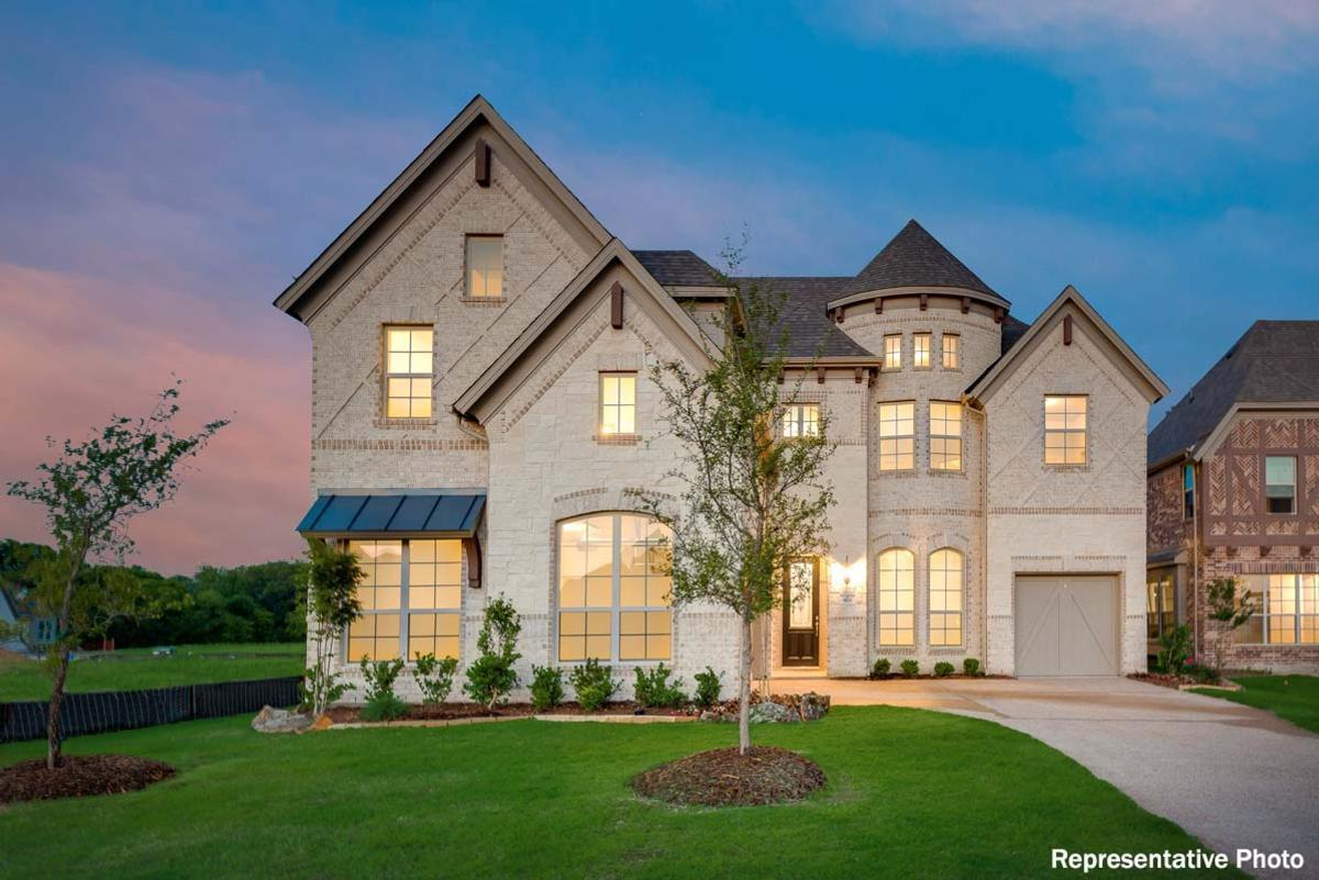 Exterior featured in the Lake Forest By Grand Homes in Dallas, TX