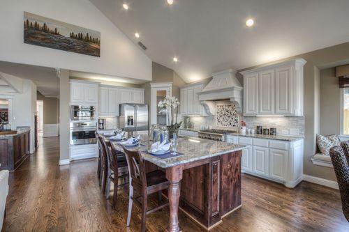 Kitchen-in-Downton Abbey - 3rd Car Garage-at-Estates at Miramonte-in-Frisco