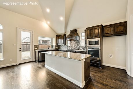 Kitchen-in-Brandonwood-at-Dominion of Pleasant Valley-in-Wylie