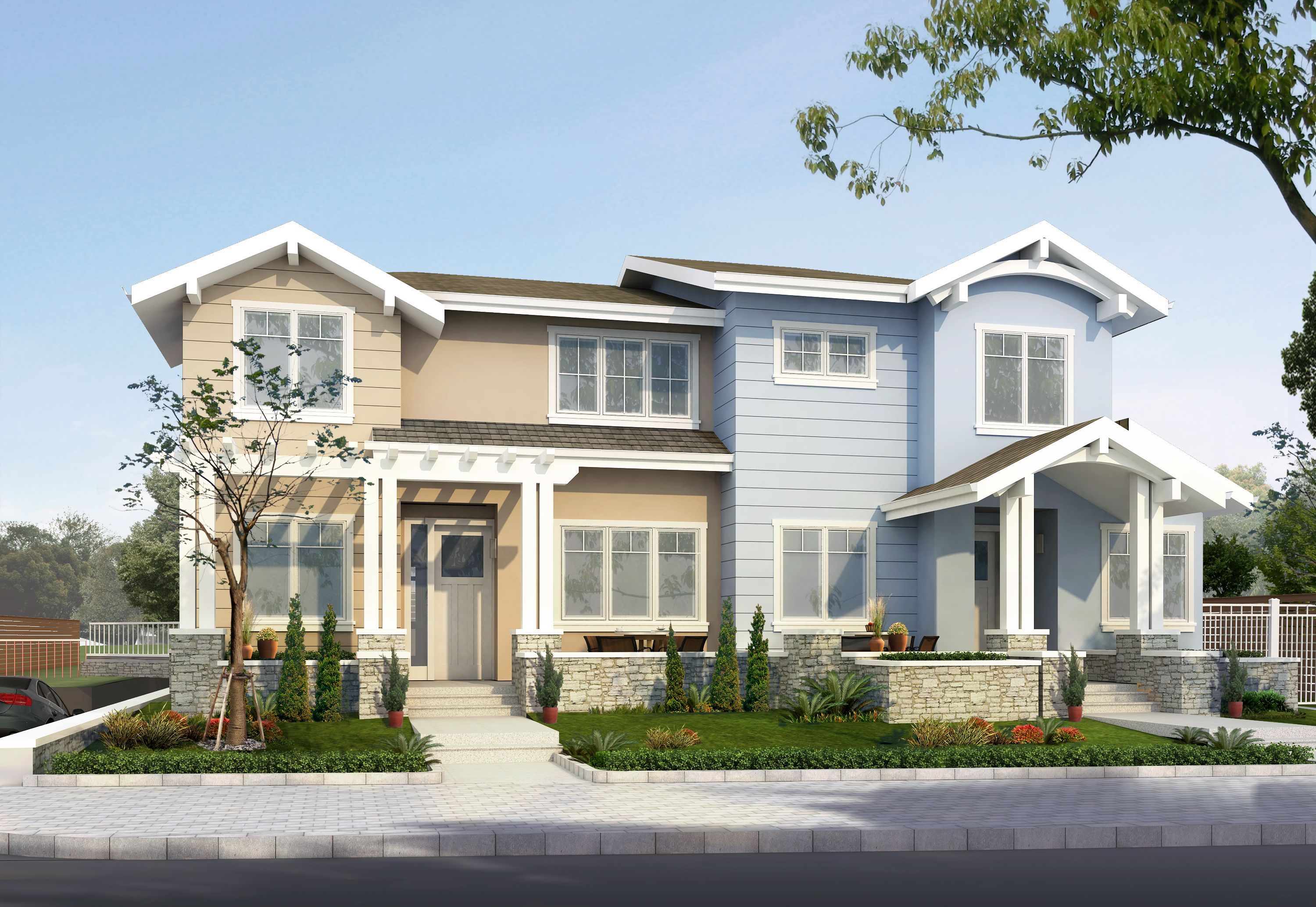 Exterior featured in the Unit 8 By Flynn Town Home Estates  in San Jose, CA