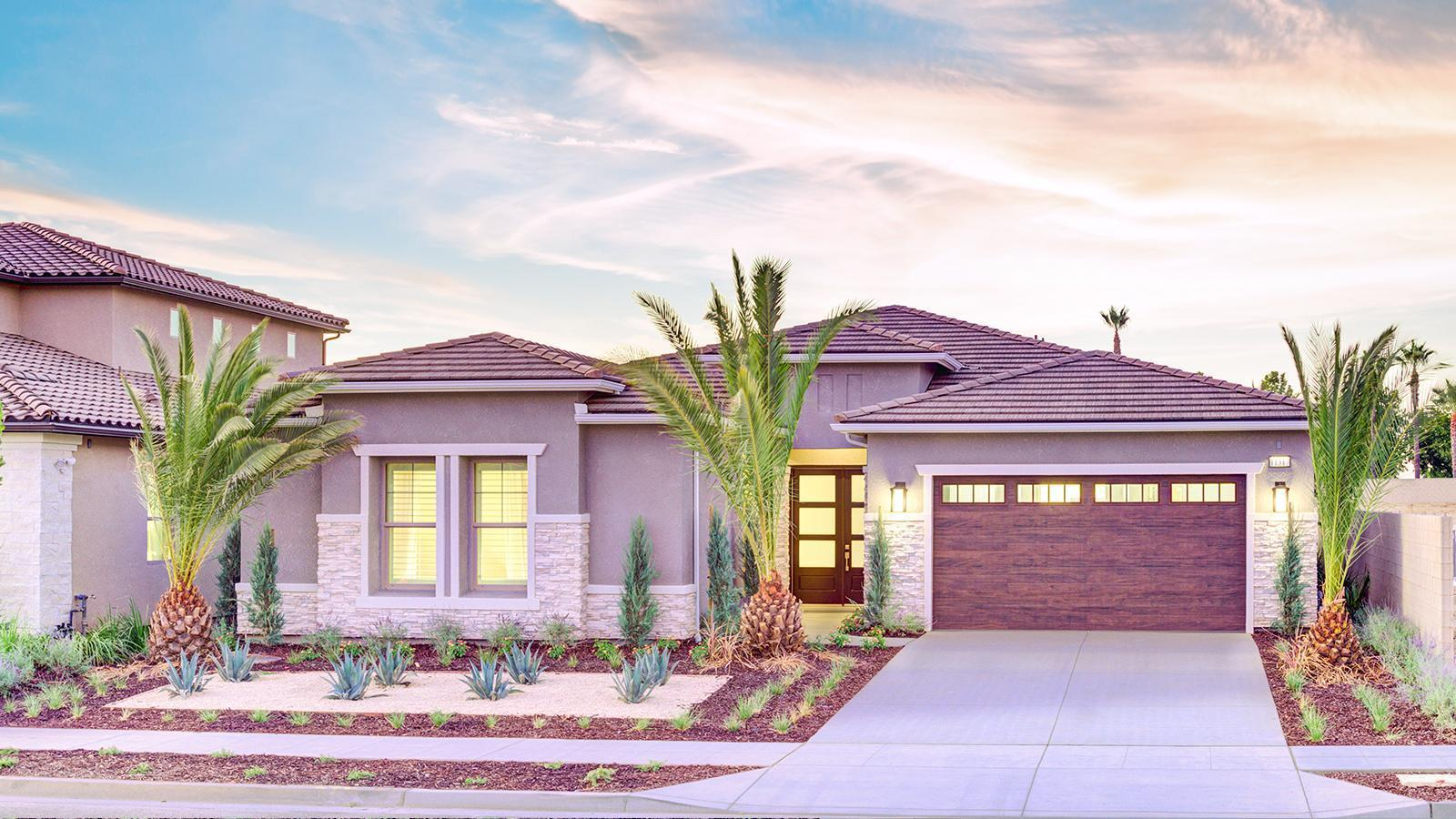 Exterior featured in the Cali By Granville Homes  in Fresno, CA