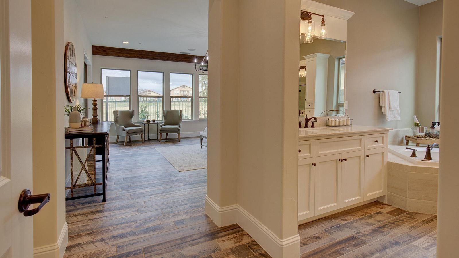 Living Area featured in the Residence 5 By Granville Homes  in Fresno, CA