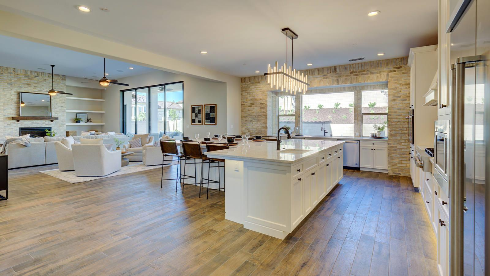 Living Area featured in the Residence 7 By Granville Homes  in Fresno, CA