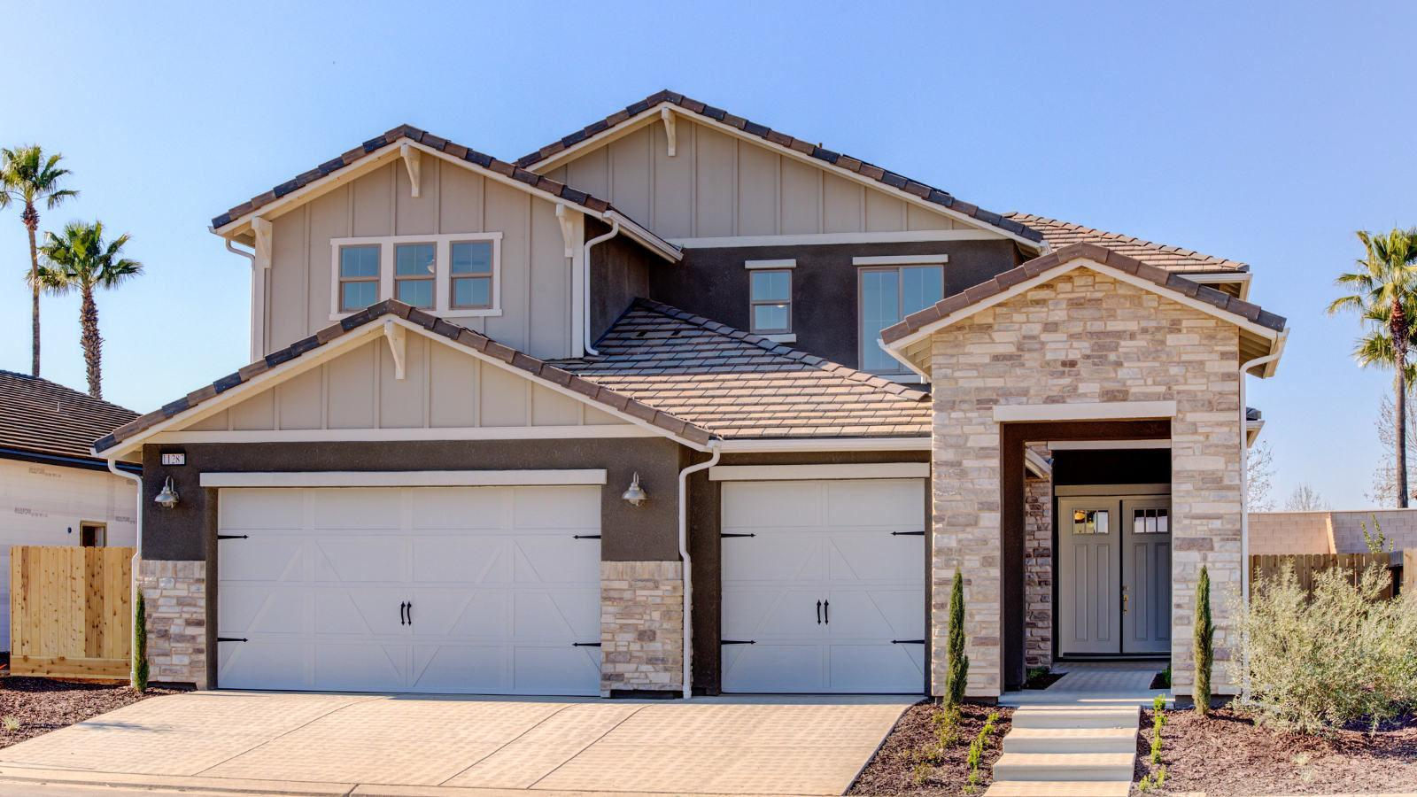 Exterior featured in the Zoie By Granville Homes  in Fresno, CA