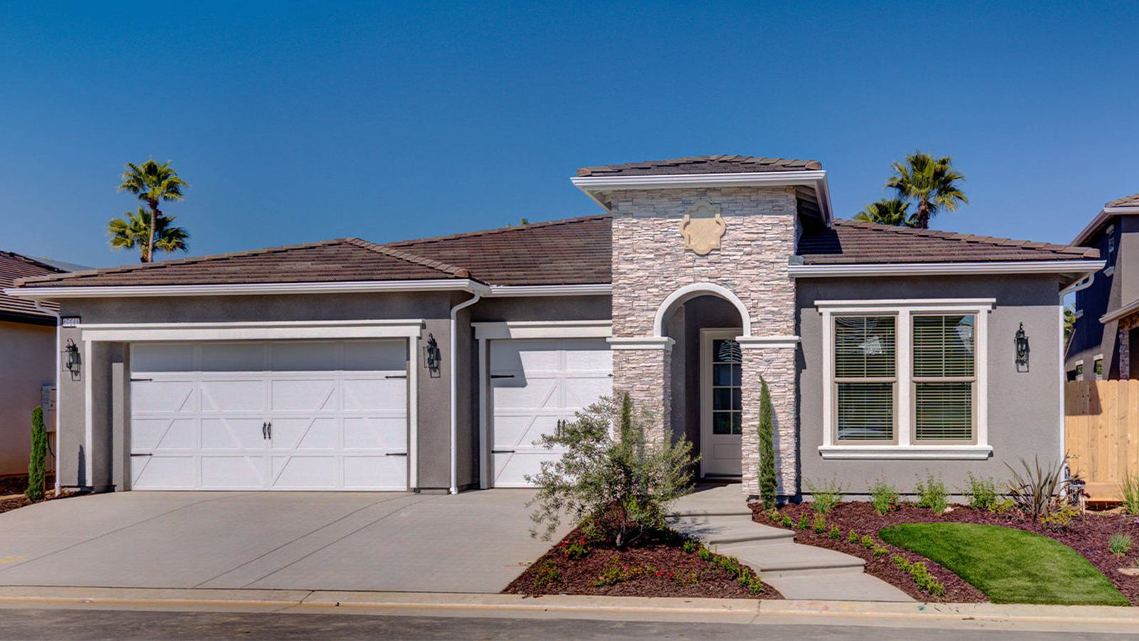 Exterior featured in the Bella By Granville Homes  in Fresno, CA