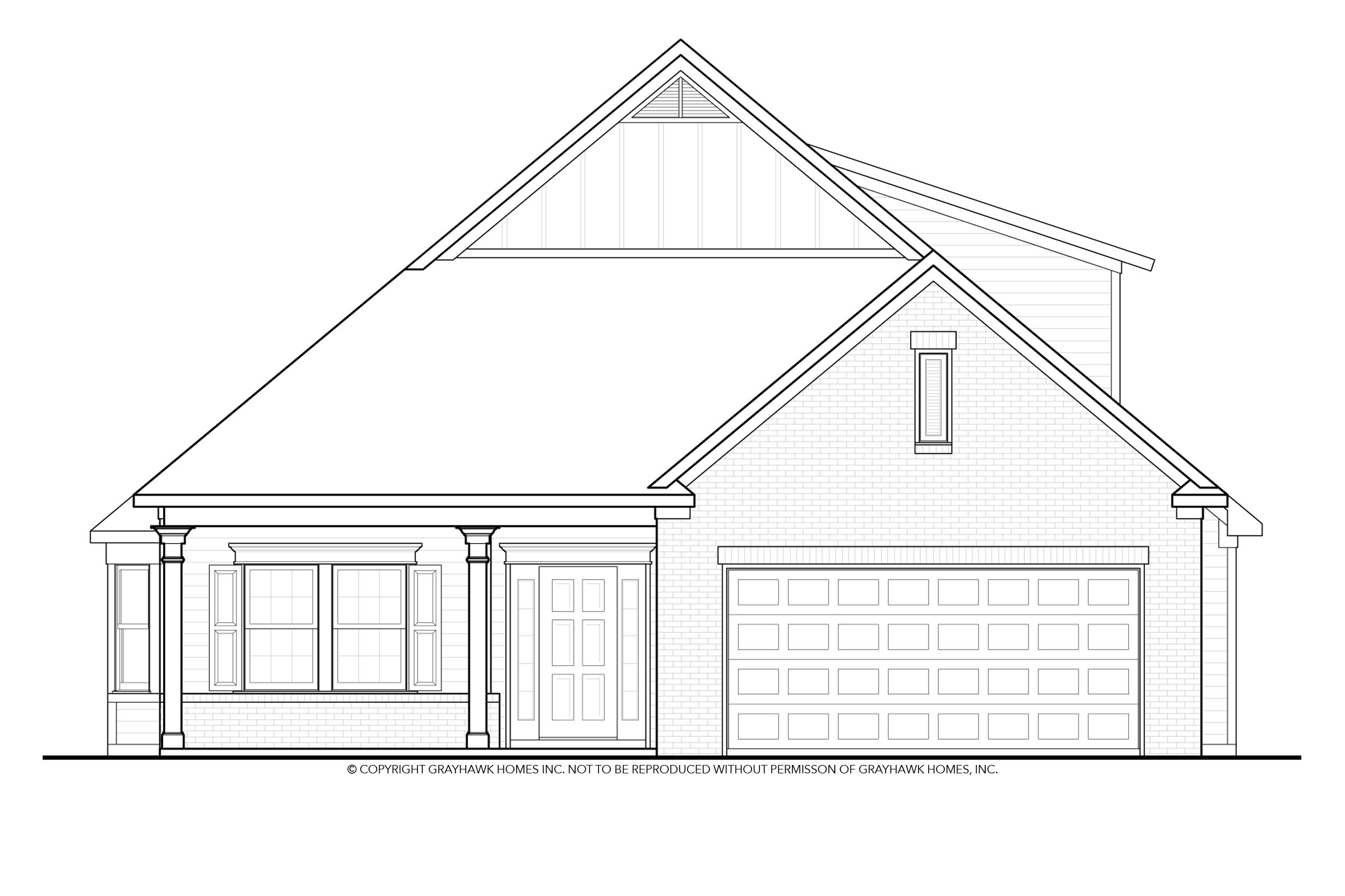 Exterior featured in the Walnut By Grayhawk Homes in Columbus, GA
