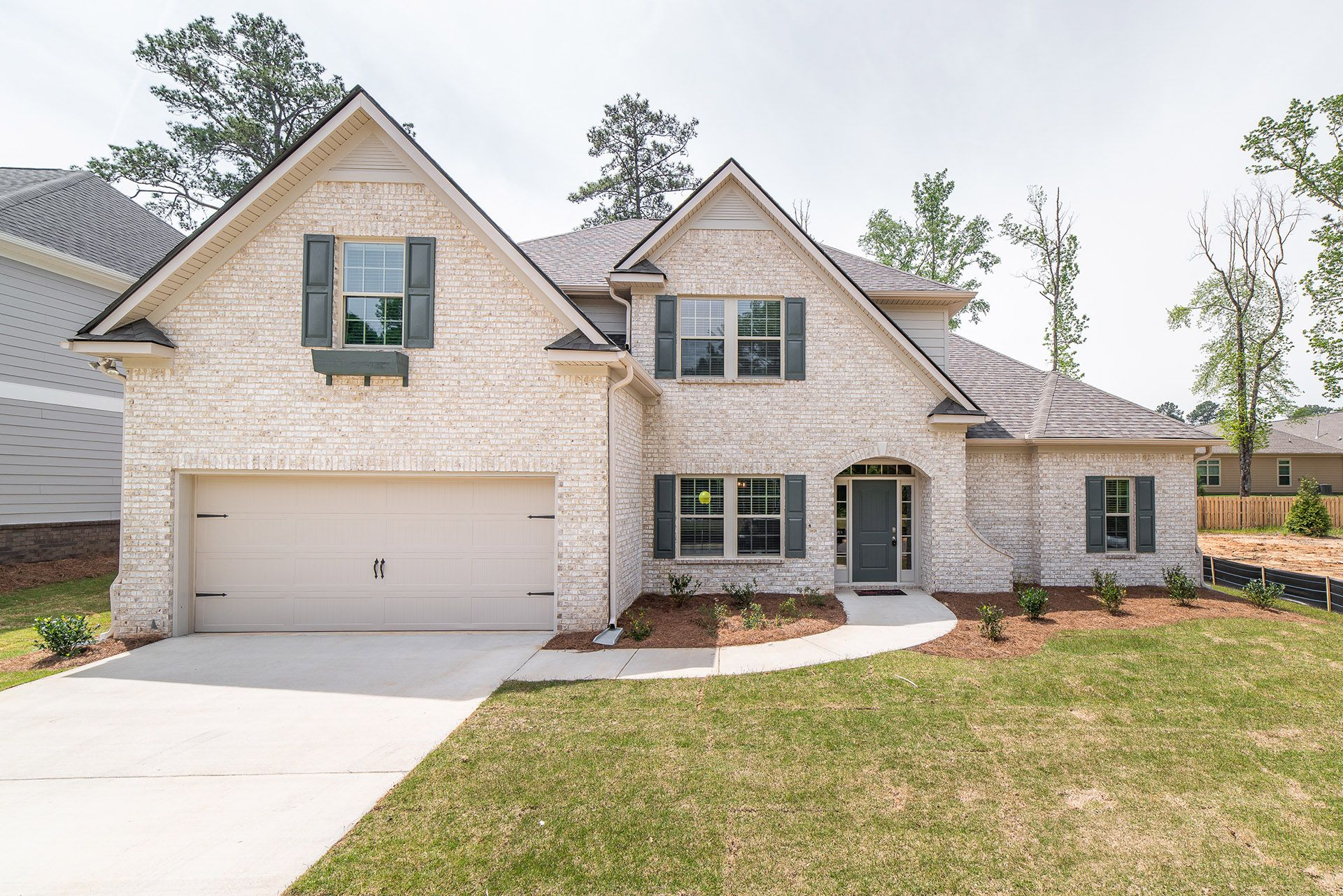 Exterior featured in the Aspen By Grayhawk Homes in Columbus, GA