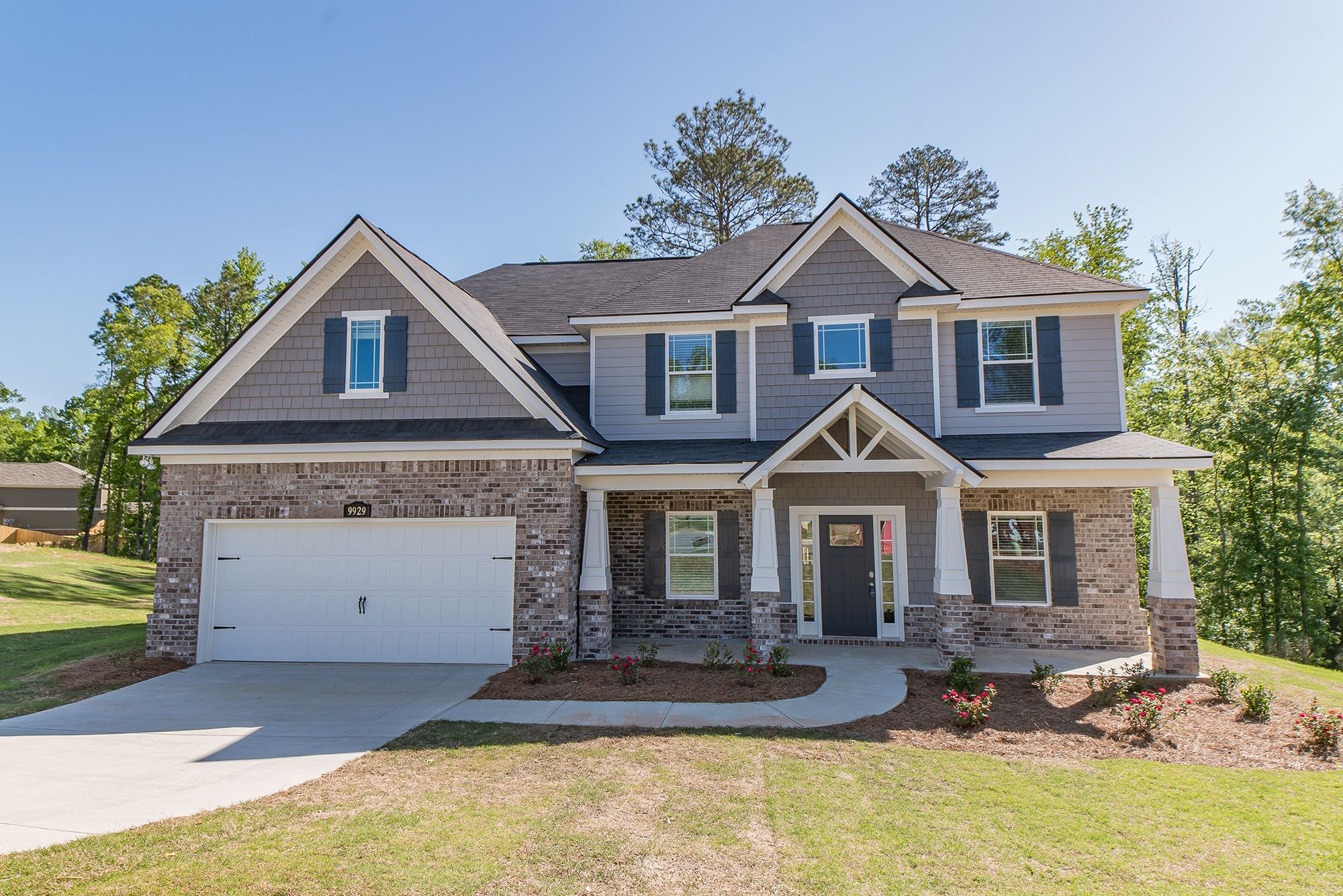 Exterior featured in the Laurel By Grayhawk Homes in Columbus, GA