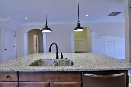 Kitchen-in-Cardinal-at-Parc at AU Club-in-Auburn