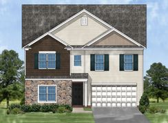 Devonshire B - Autumn Woods West: Lexington, South Carolina - Great Southern Homes
