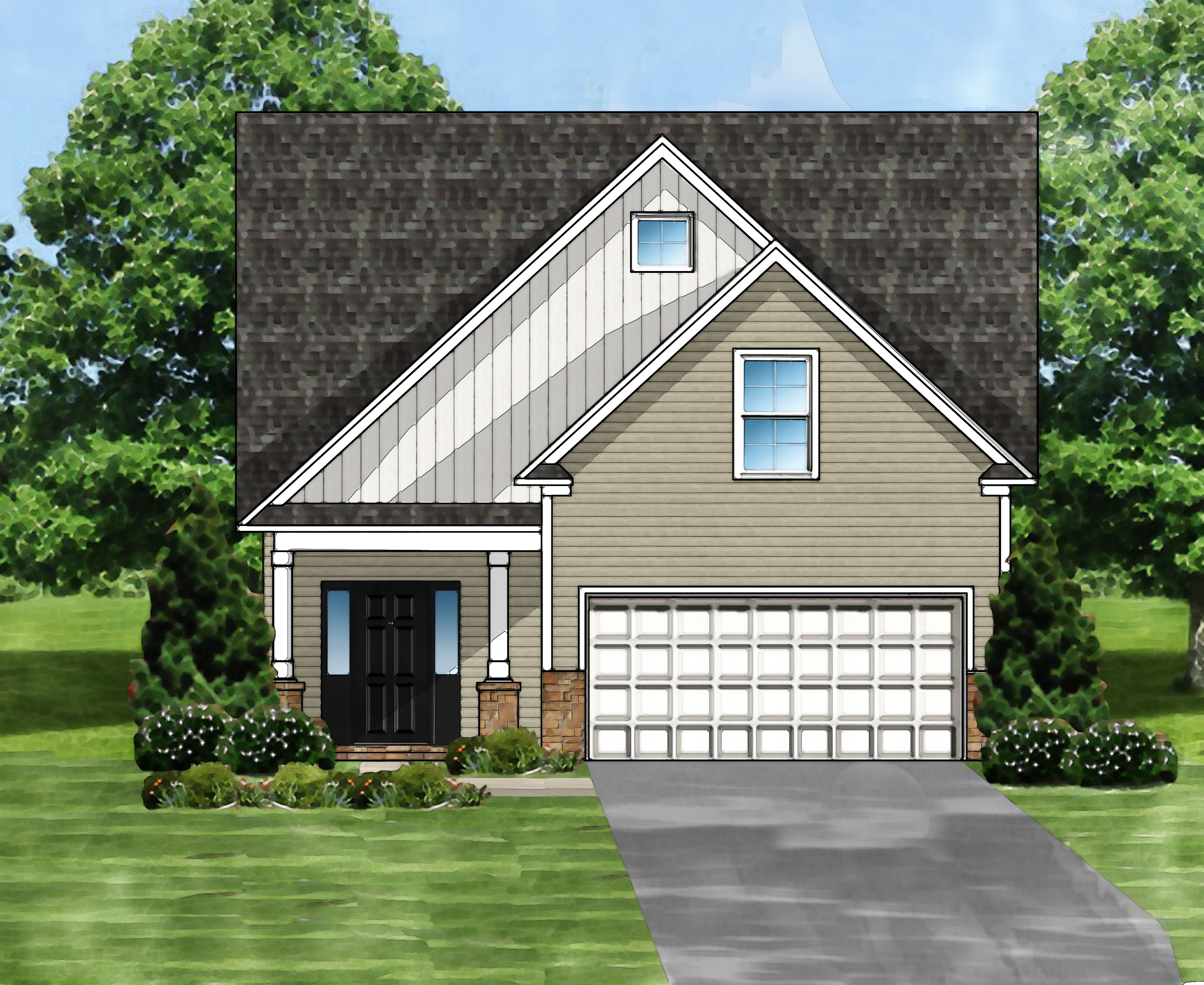 Sabel B Plan, Simpsonville, South Carolina 29680