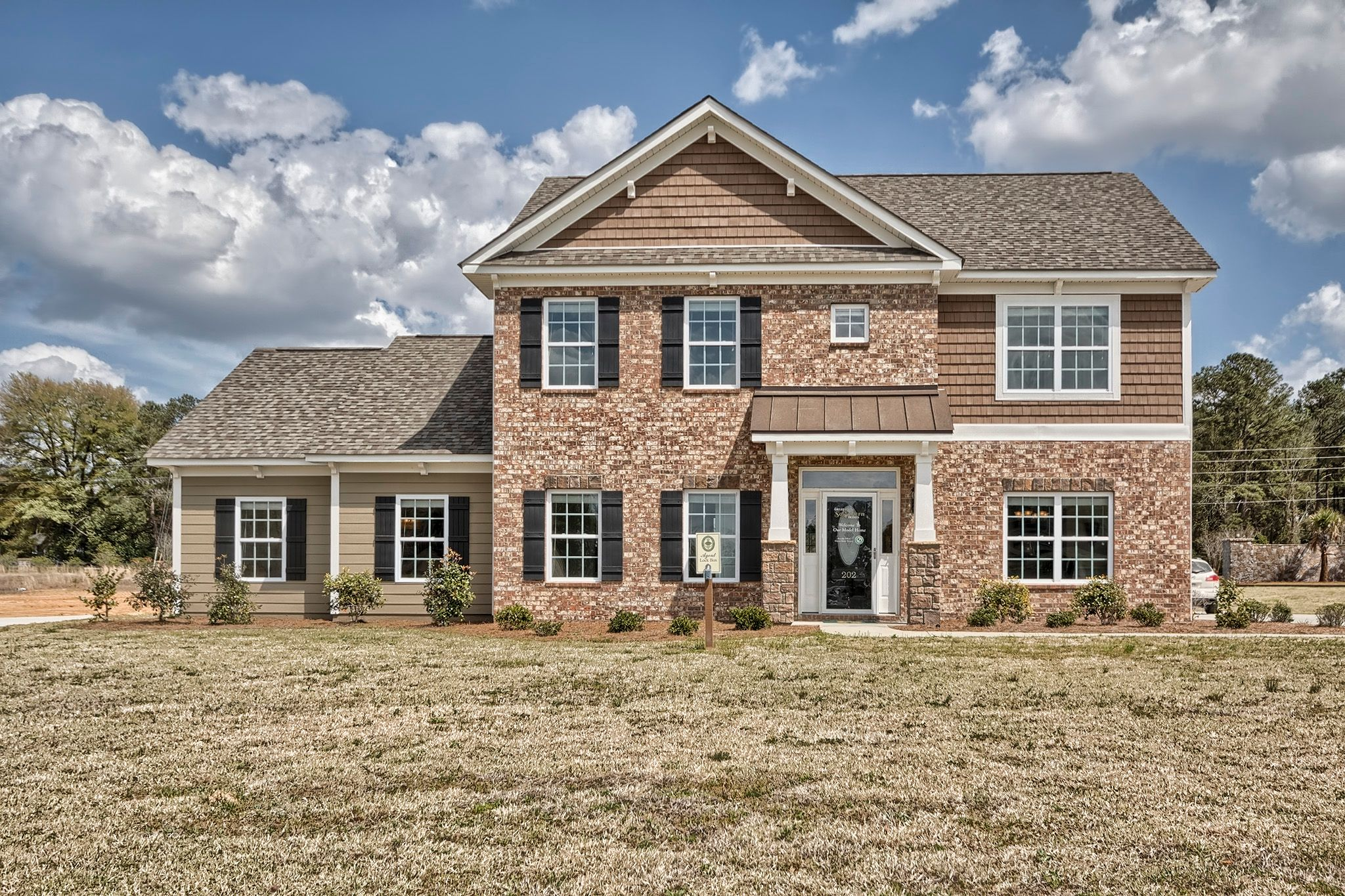 Exterior featured in the Canterbury A By Great Southern Homes in Columbia, SC