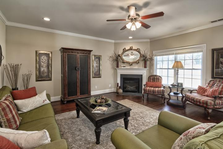 Living Area featured in the Canterbury A By Great Southern Homes in Columbia, SC