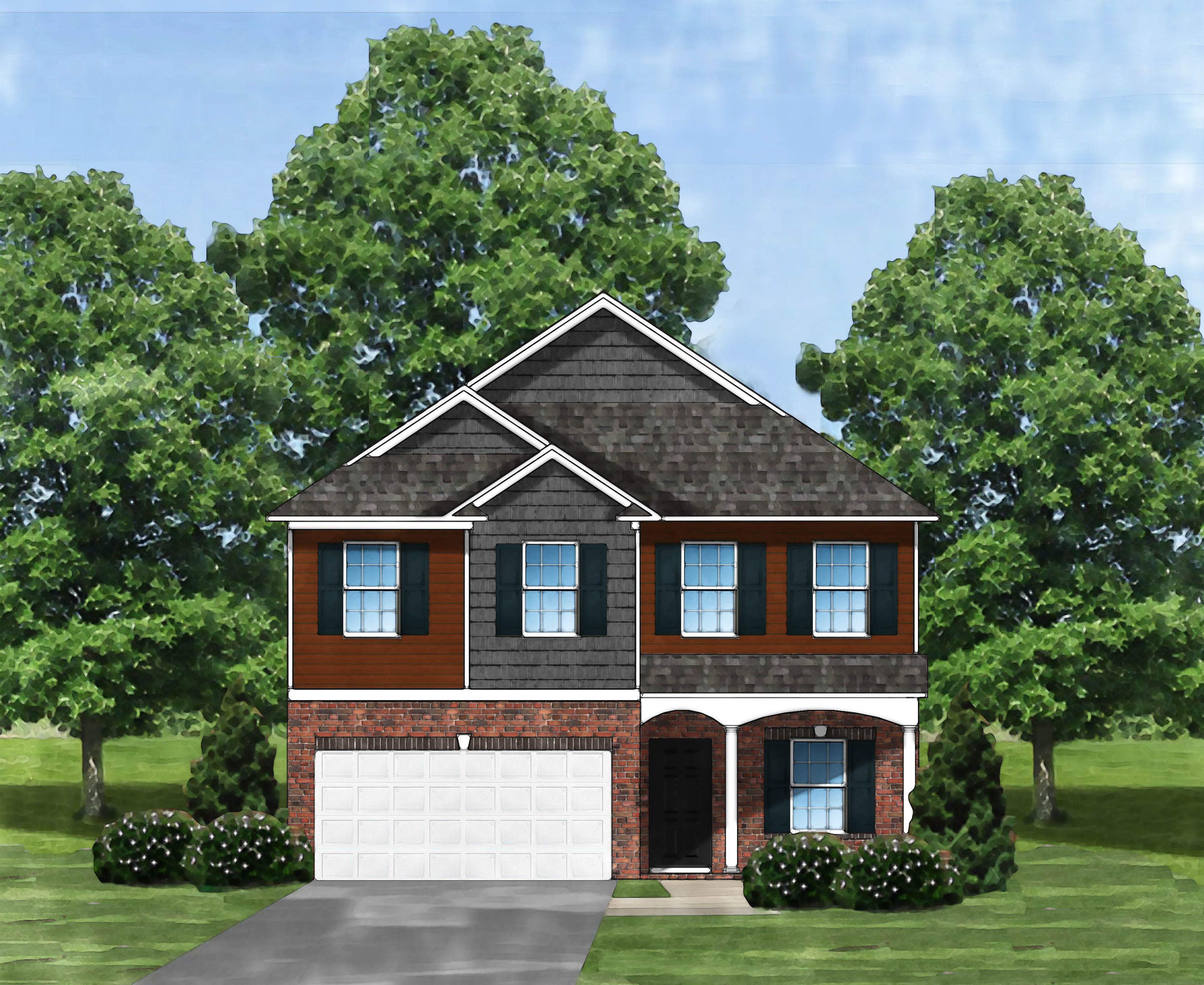 Exterior featured in the Kingstree II B2 By Great Southern Homes in Sumter, SC