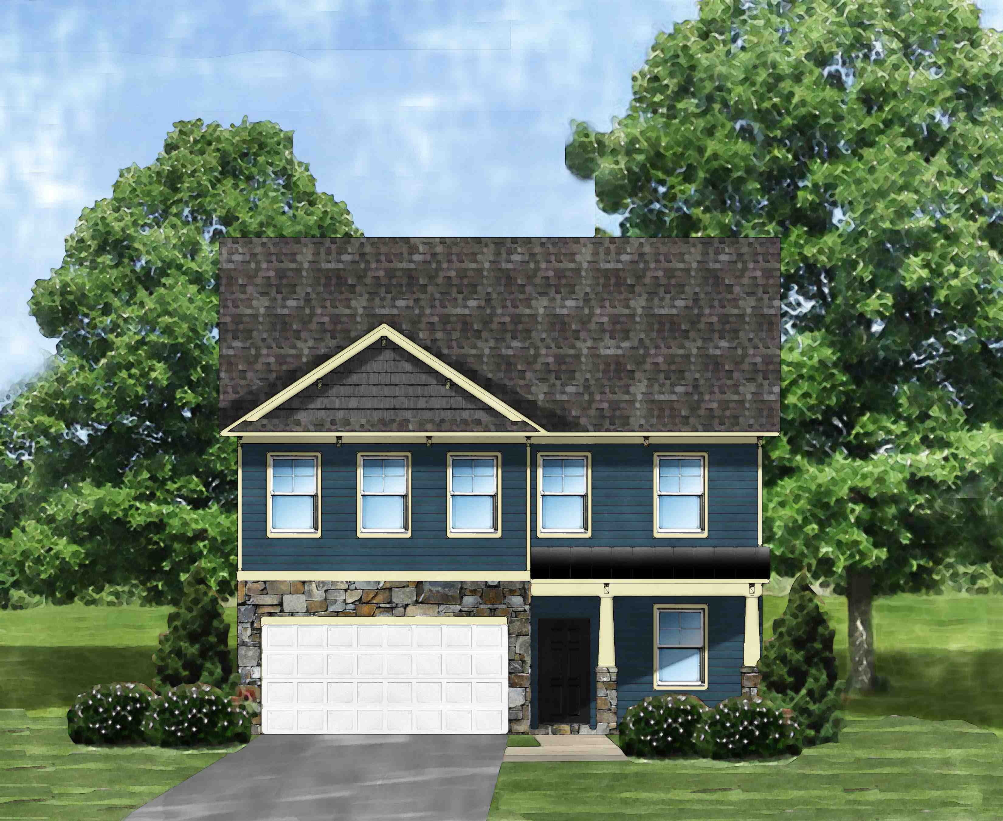 Exterior featured in the Kingstree II D6 By Great Southern Homes in Columbia, SC