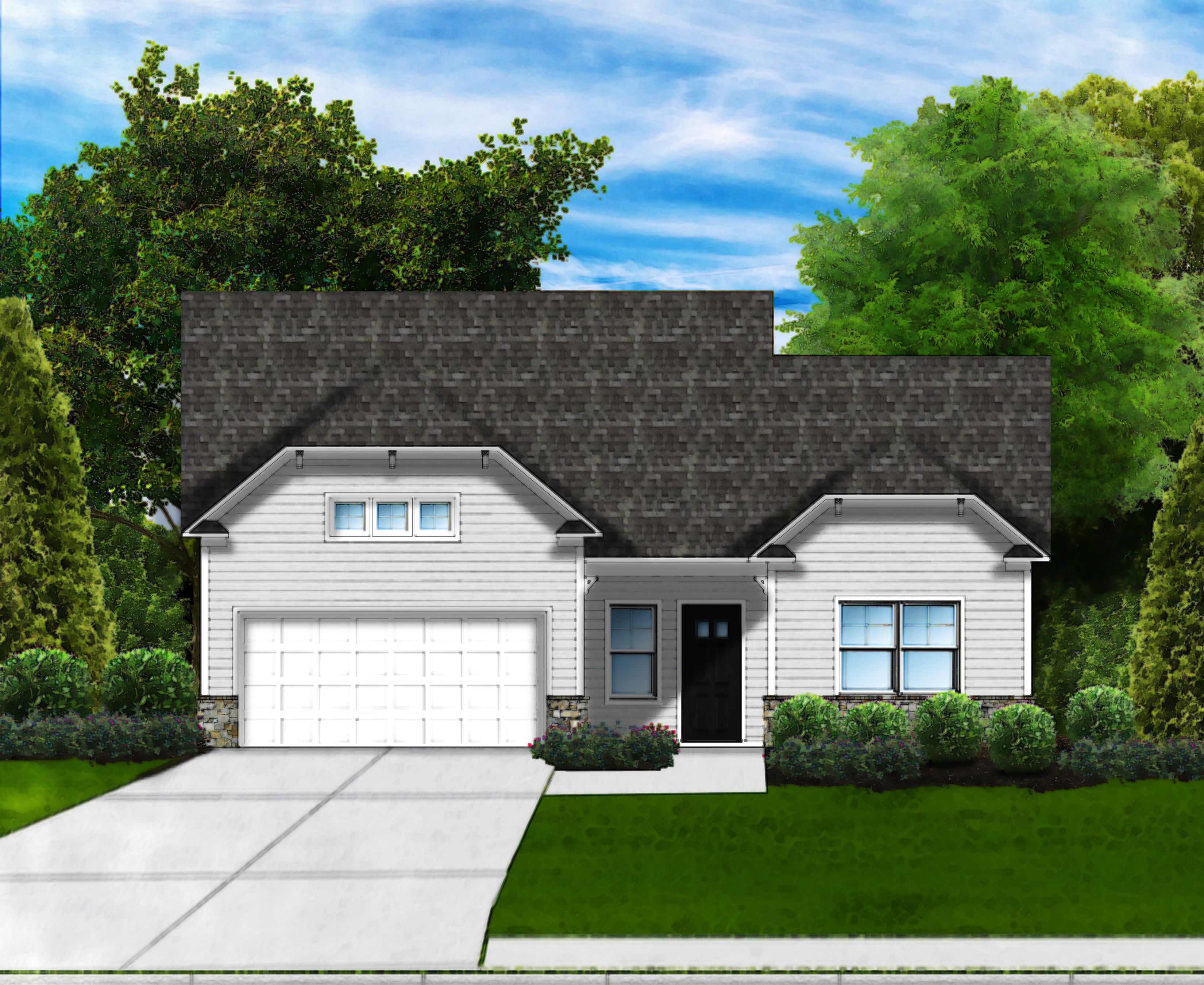 Exterior featured in the Amelia II D6 By Great Southern Homes in Myrtle Beach, SC