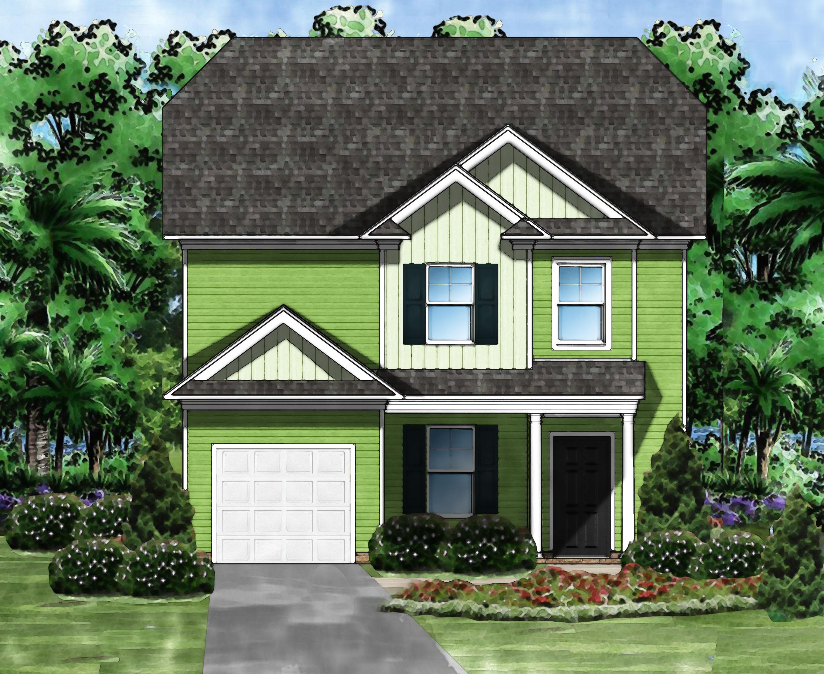 Exterior featured in the Taylor E By Great Southern Homes in Columbia, SC