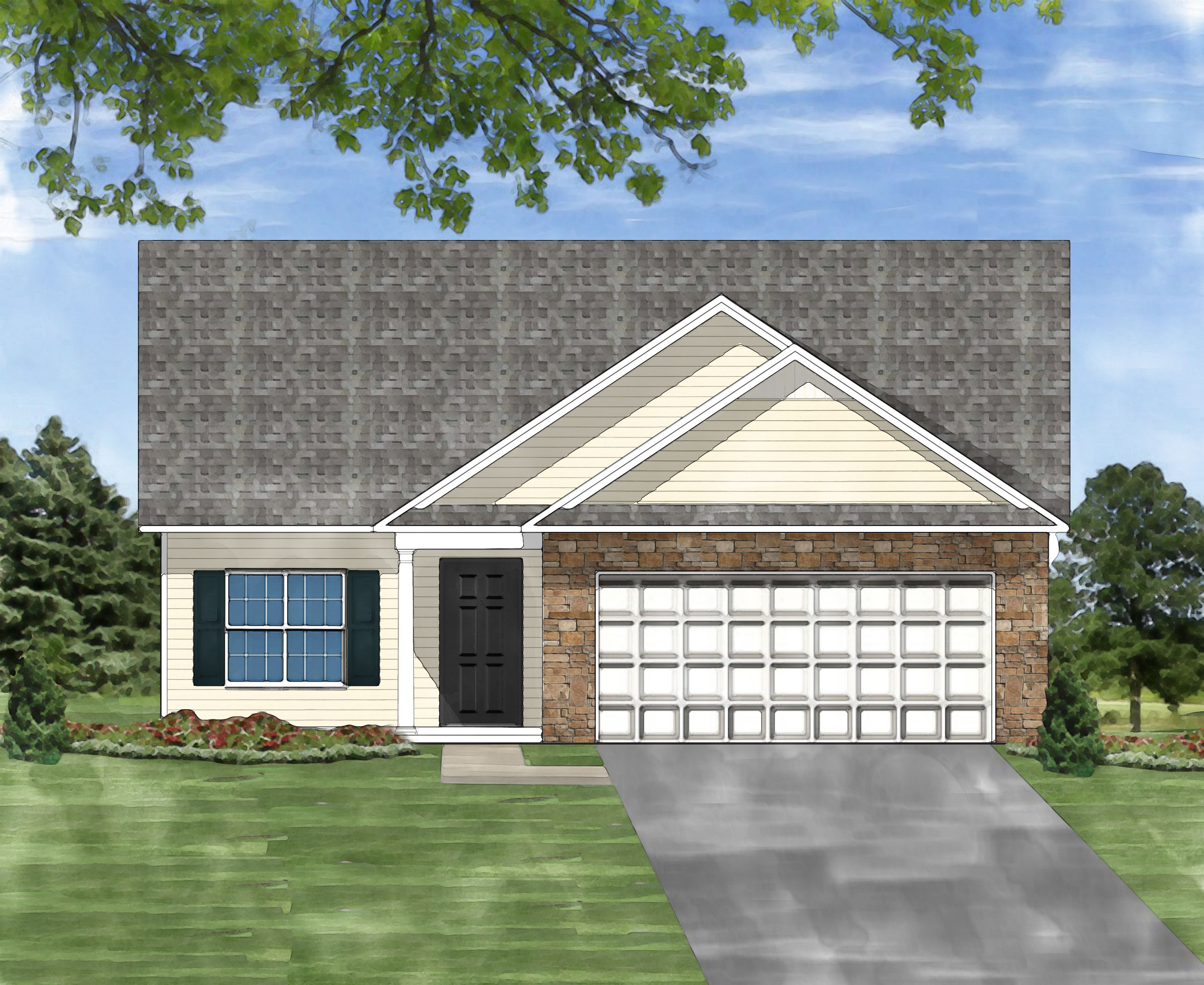 Exterior featured in the Annaberry A By Great Southern Homes in Columbia, SC