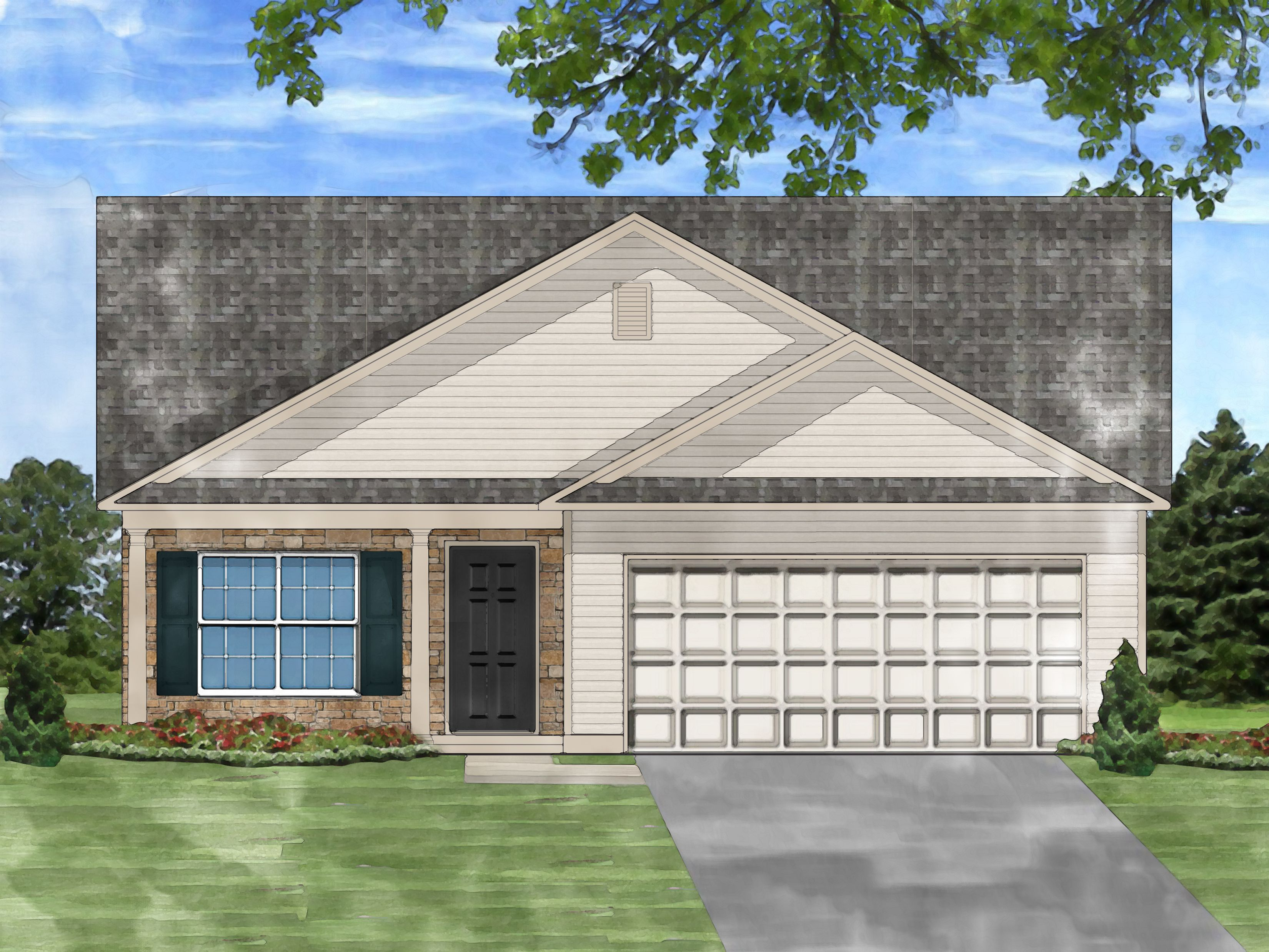 Exterior featured in the Annaberry B By Great Southern Homes in Columbia, SC