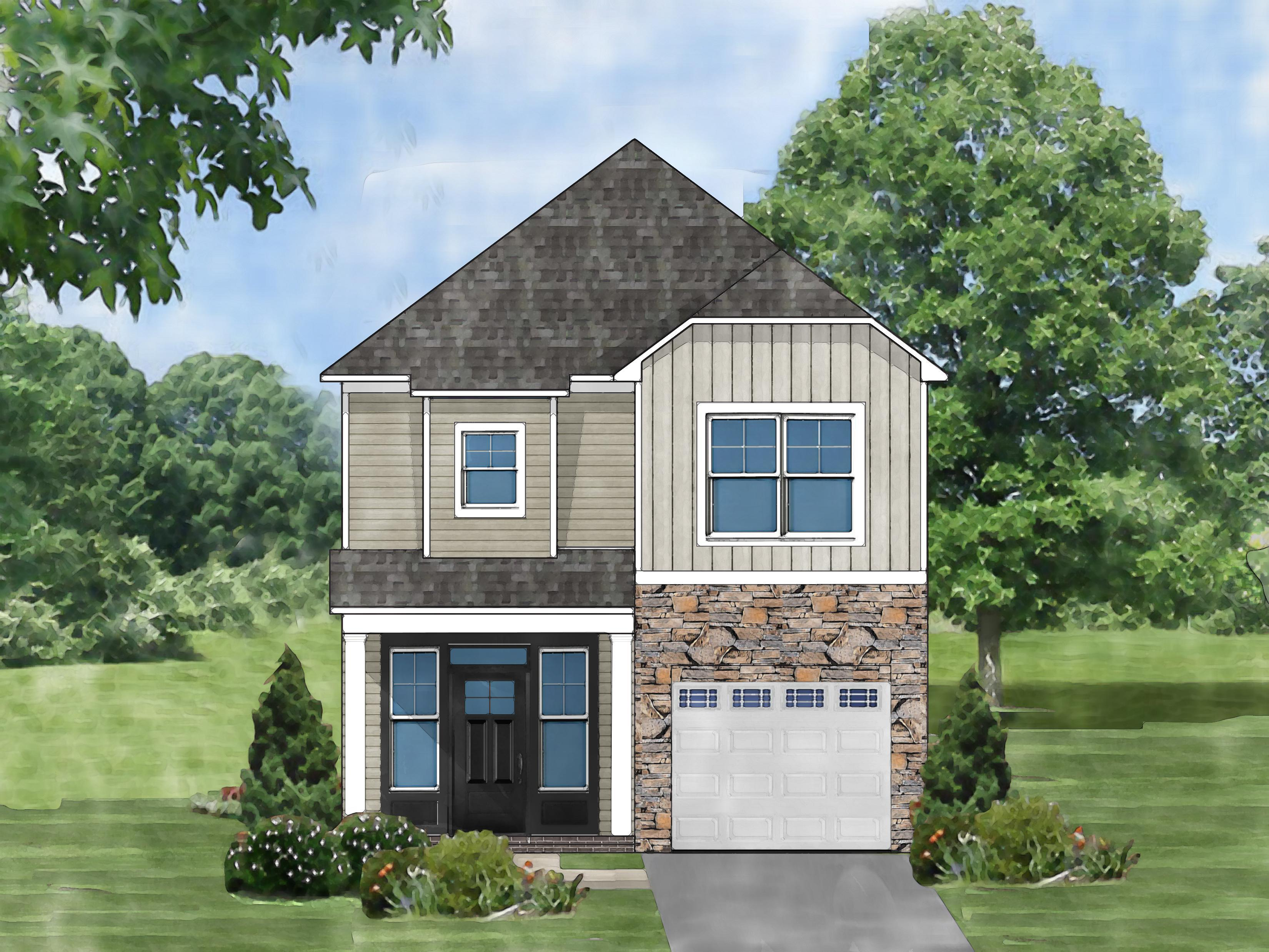 Exterior featured in the Laurel C By Great Southern Homes in Greenville-Spartanburg, SC