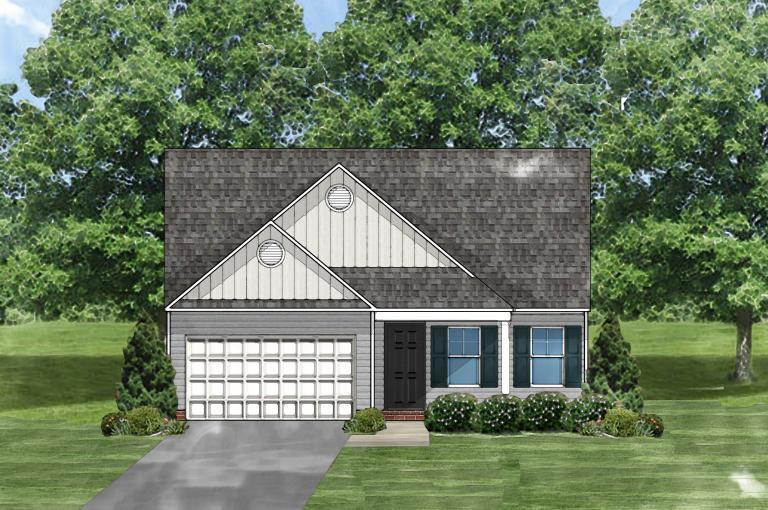 Exterior featured in the Buckley B By Great Southern Homes in Columbia, SC