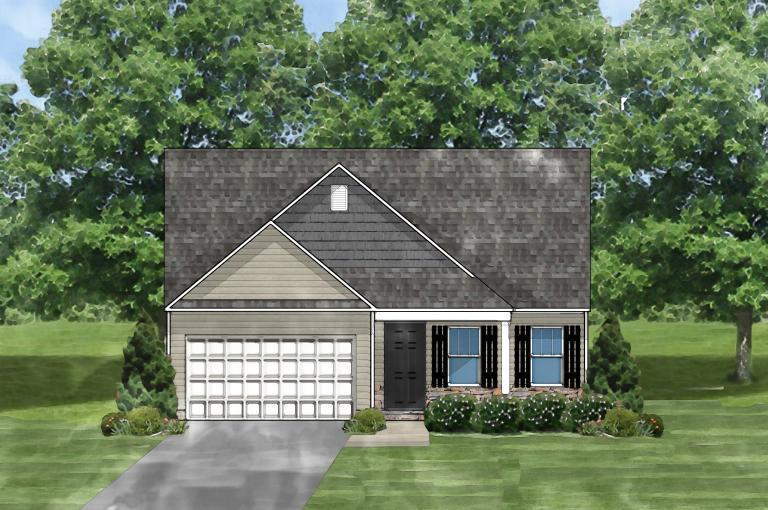 Exterior featured in the Buckley C By Great Southern Homes in Columbia, SC