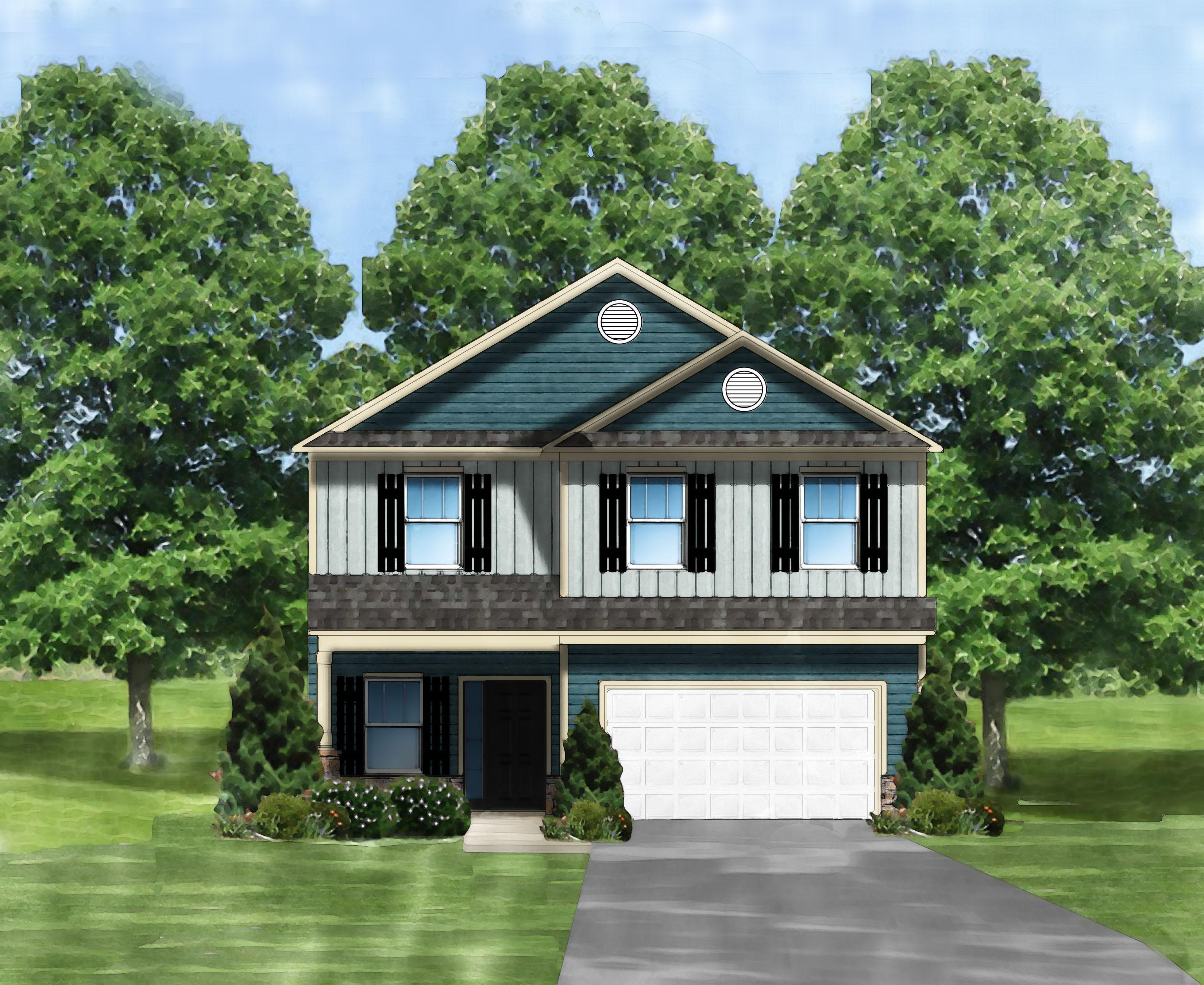 Exterior featured in the Harper B By Great Southern Homes in Florence, SC