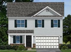 Bentgrass A - Harvest Glen: Piedmont, South Carolina - Great Southern Homes