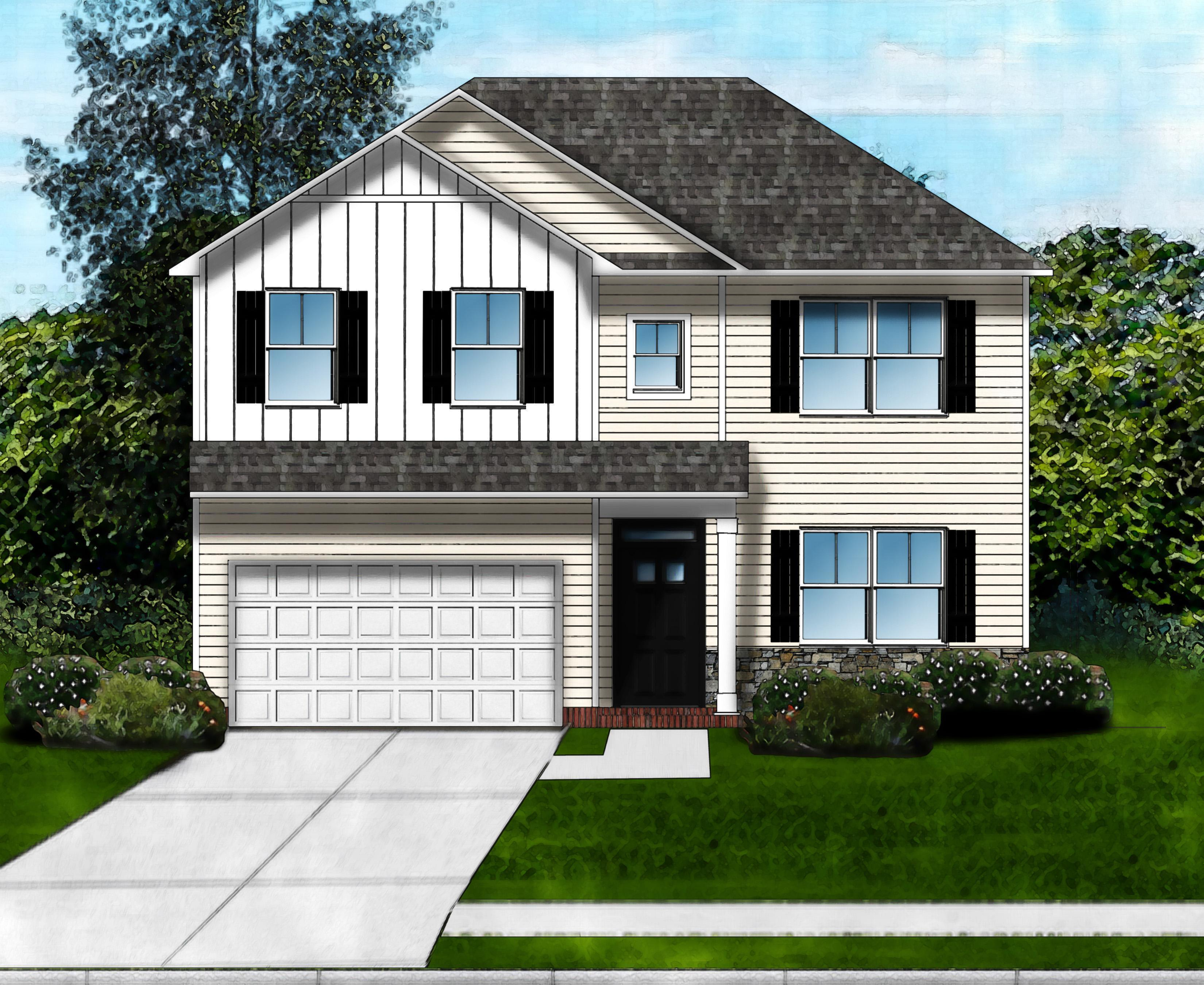 Exterior featured in the Riverbend A By Great Southern Homes in Columbia, SC