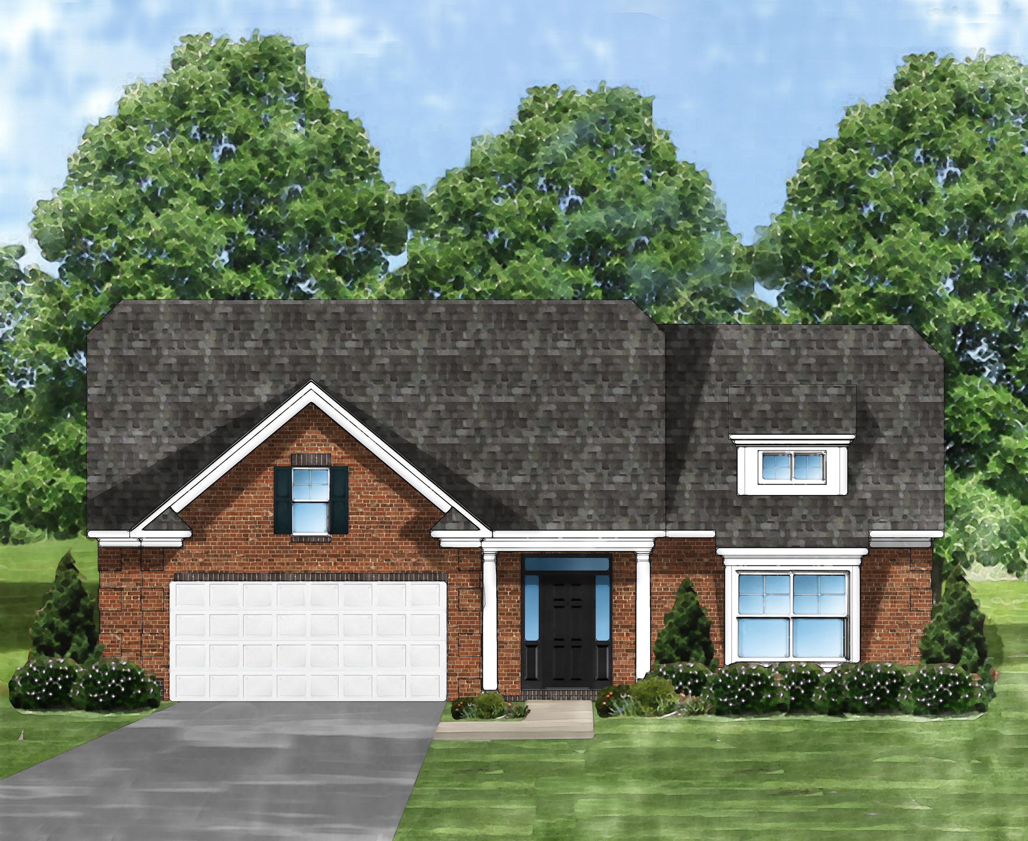 Exterior featured in the Marco B By Great Southern Homes in Greenville-Spartanburg, SC