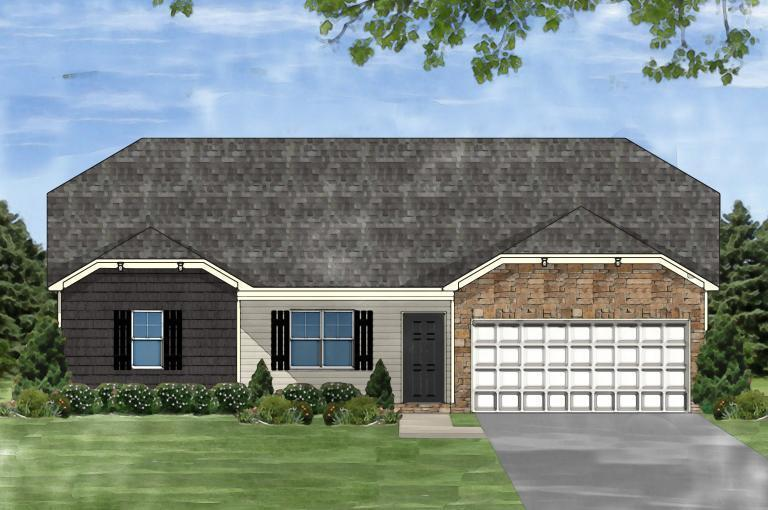 Exterior featured in the Darlington C By Great Southern Homes in Greenville-Spartanburg, SC
