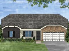 Darlington C - Winterbrook: Fountain Inn, South Carolina - Great Southern Homes